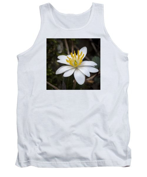 Tank Top featuring the photograph Bloodroot by Tyson and Kathy Smith