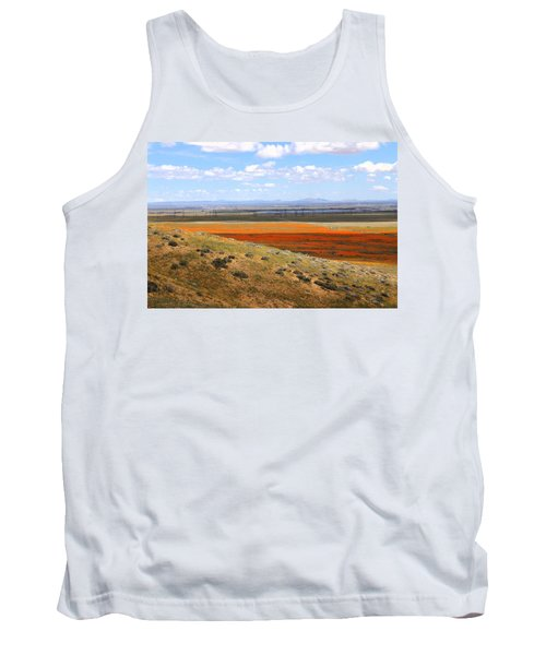 Tank Top featuring the photograph Blooming Season In Antelope Valley by Viktor Savchenko