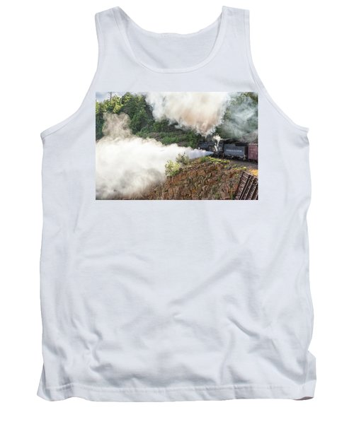 Blowing Off Steam Tank Top