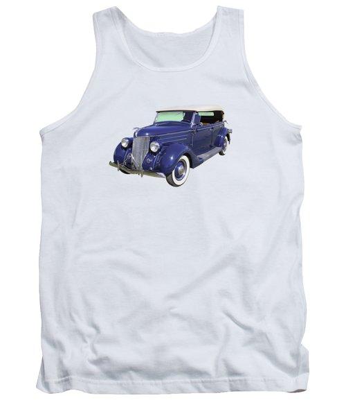 Blue 1936 Ford Phaeton Convertible  Tank Top