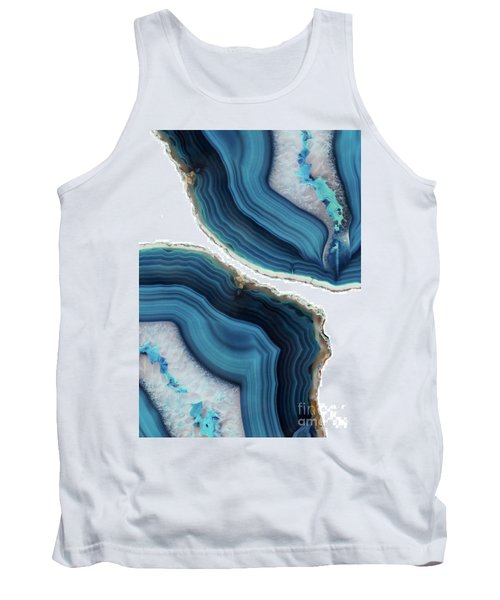 Blue Agate Tank Top