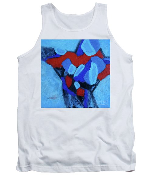 Blue And Red Tank Top