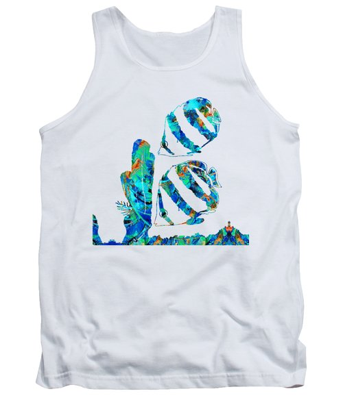Blue Angels Fish Art By Sharon Cummings Tank Top
