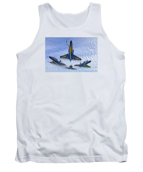 Blue Angels V.2 Electric Edition Tank Top