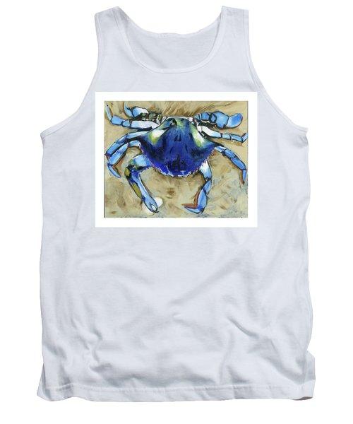 Blue Crab Tank Top