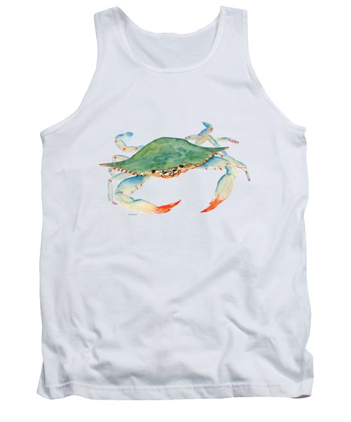 Blue Crab Tank Top