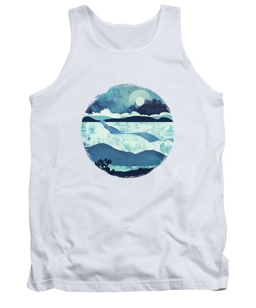 Blue Desert Tank Top