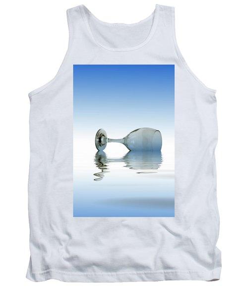 Blue Glass Tank Top