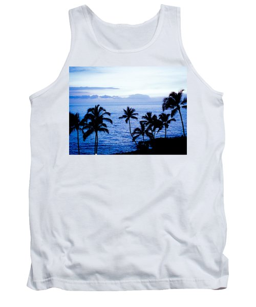 Blue Hawaii Tank Top