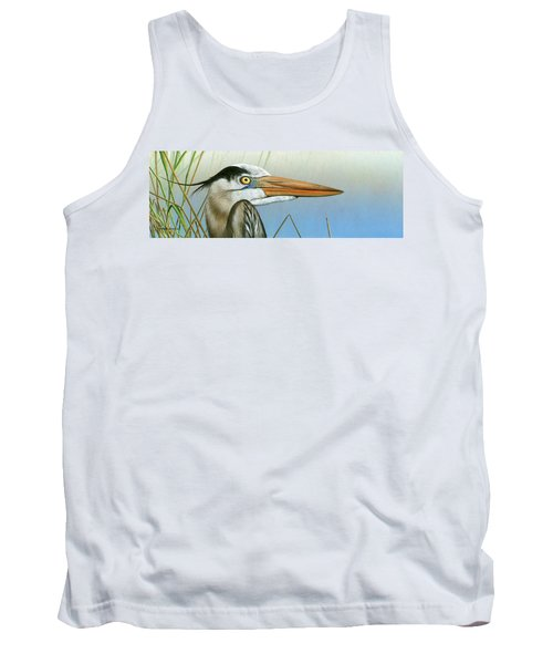 Blue Heron  Tank Top