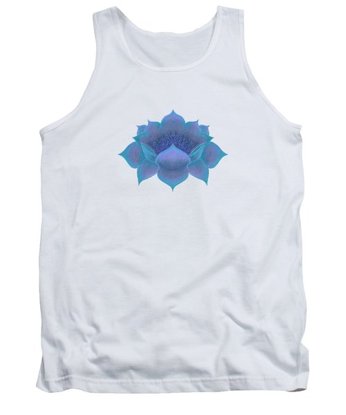 Blue Lotus Tank Top