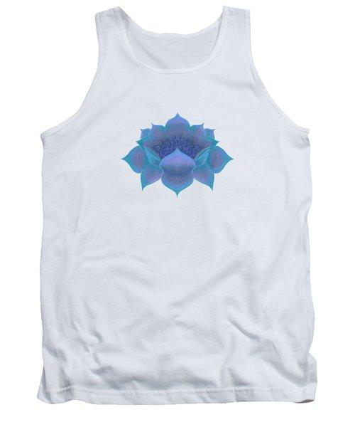 Blue Lotus Tank Top