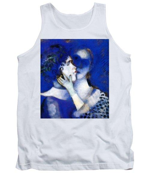 Blue Lovers Tank Top