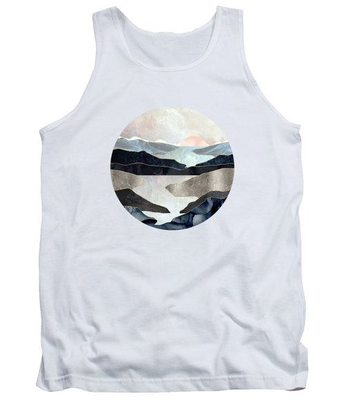 Blue Mountain Lake Tank Top