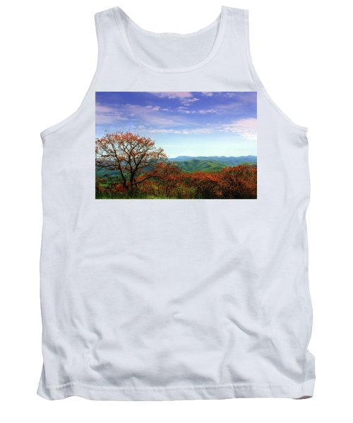 Tank Top featuring the photograph Blue Ridge Blessing by Jessica Brawley