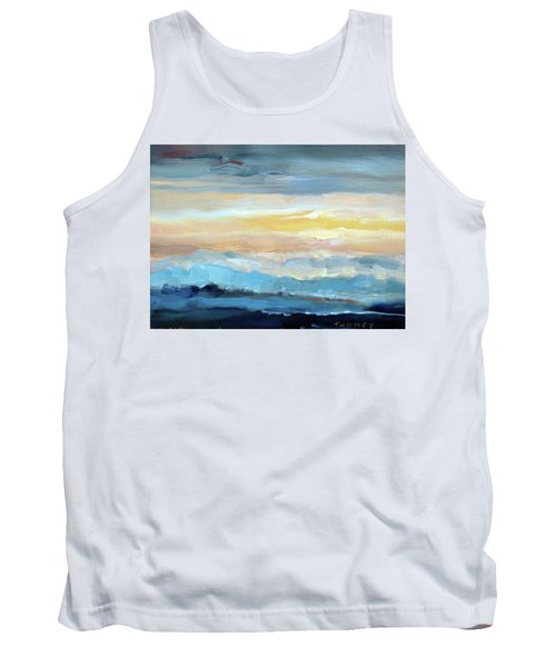 Blue Ridge Mountain Sunset 1.0 Tank Top