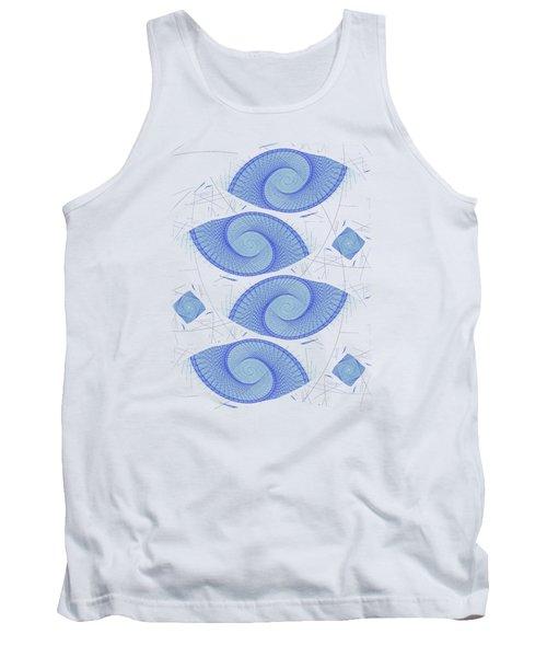 Blue Shells Tank Top