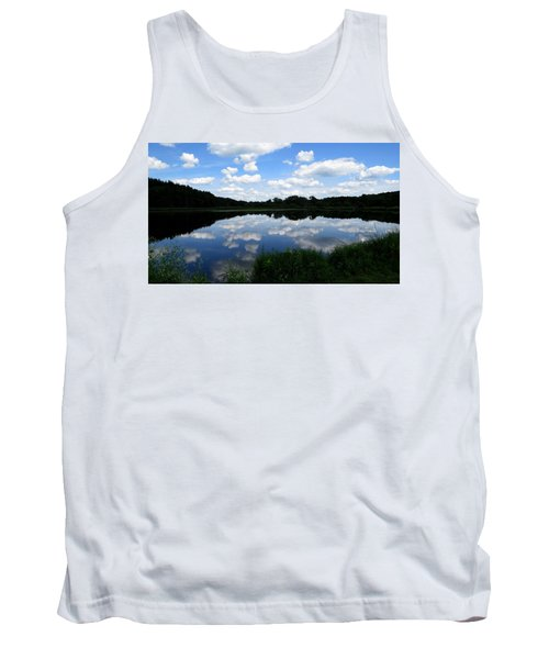 Blue Skies At Cadiz Springs Tank Top