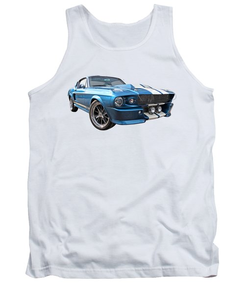 Blue Skies Cruising - 1967 Eleanor Mustang Tank Top