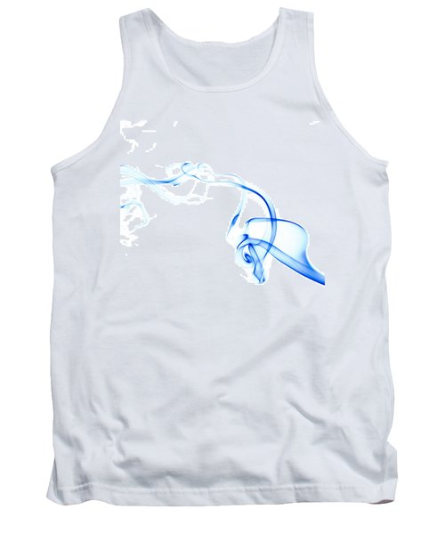 Blue Smoke Tank Top
