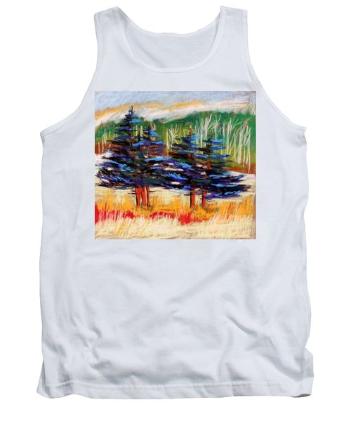 Blue Spruce Stand Tank Top