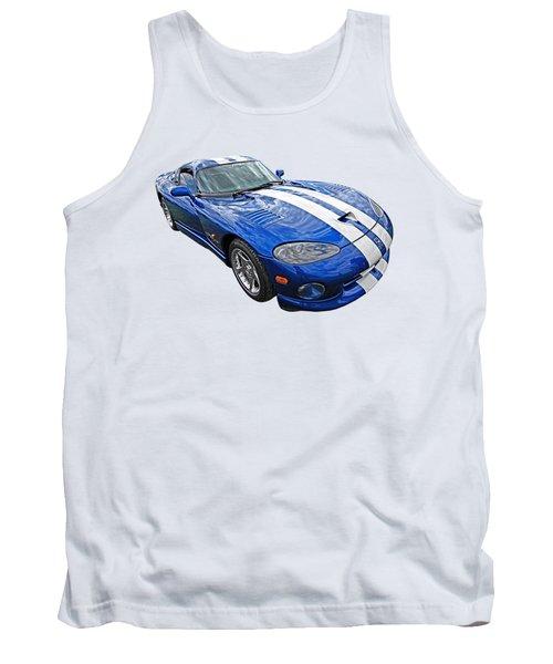 Blue Viper Tank Top