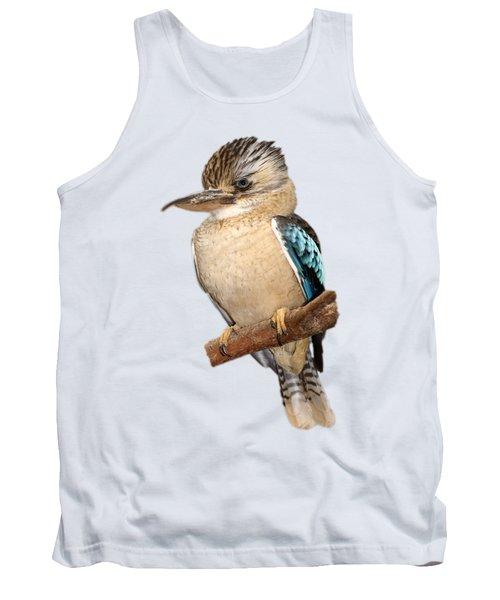 Blue Winged Kookaburra Tank Top