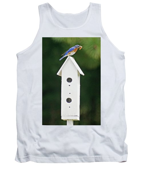 Bluebird Dad Tank Top by Judy Johnson