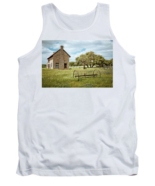 Tank Top featuring the photograph Bluebonnet Dreams by Linda Unger