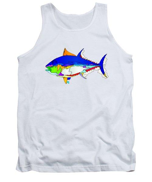Bluefin Tuna  Tank Top