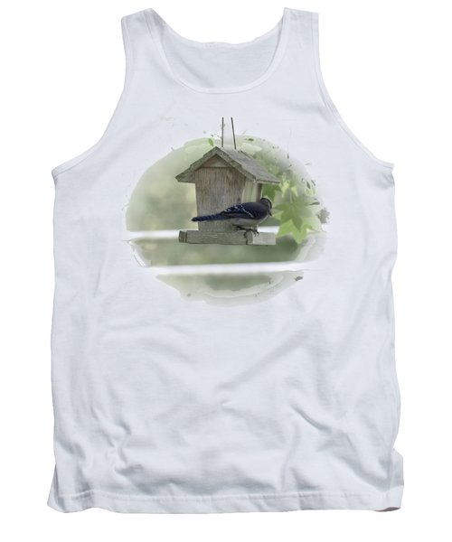 Bluejay Tank Top by Judy Hall-Folde
