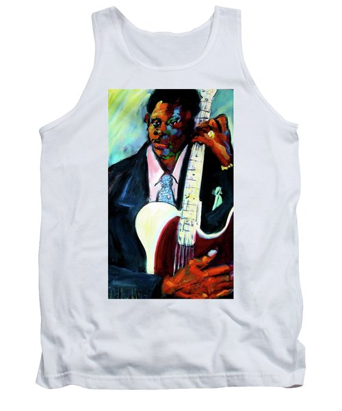 Blues Boy Tank Top by Les Leffingwell