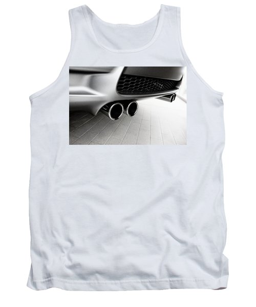 Tank Top featuring the photograph Bmw M3 Exhaust  by Aaron Berg