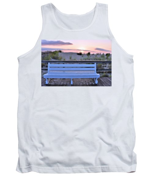 A Welcome Invitation -  The Boardwalk Bench Tank Top