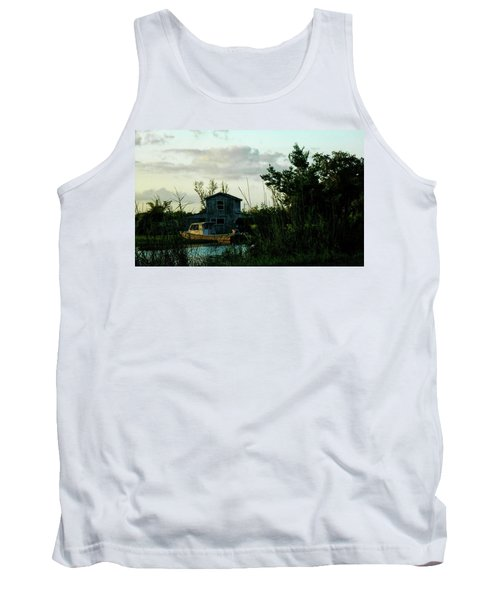 Boat House Tank Top by Cynthia Powell
