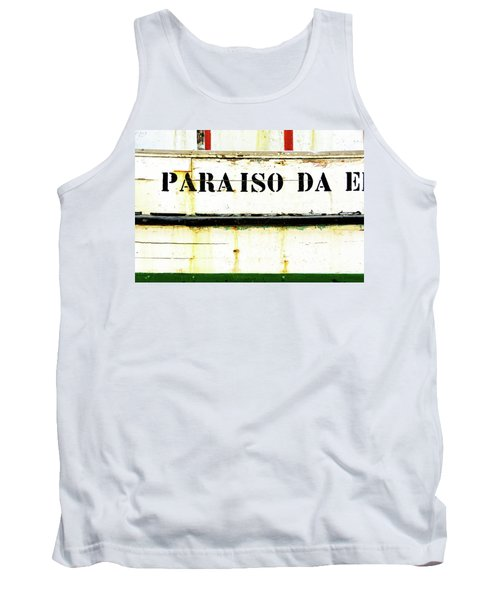 Boat Letters Tank Top