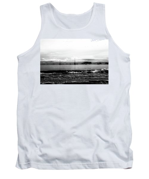 Boats And Clouds Tank Top