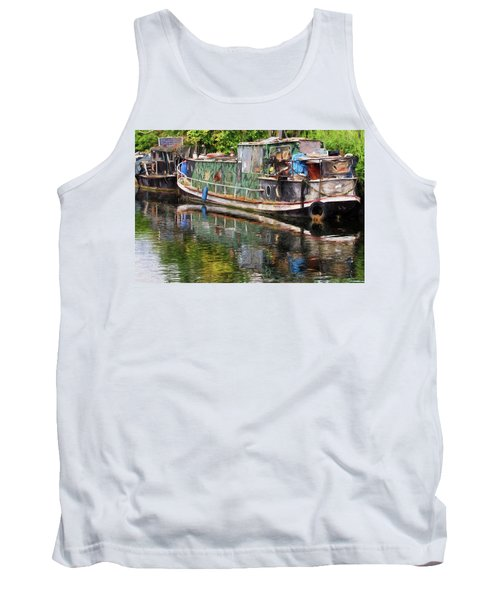 Boats In Need Of Restoration Tank Top