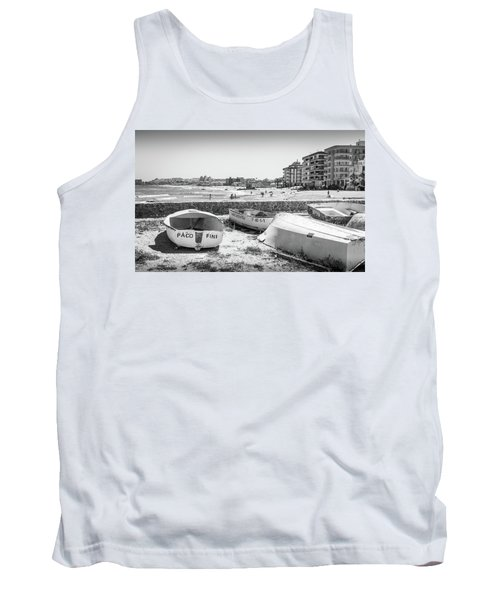 Boats On The Beach Tank Top