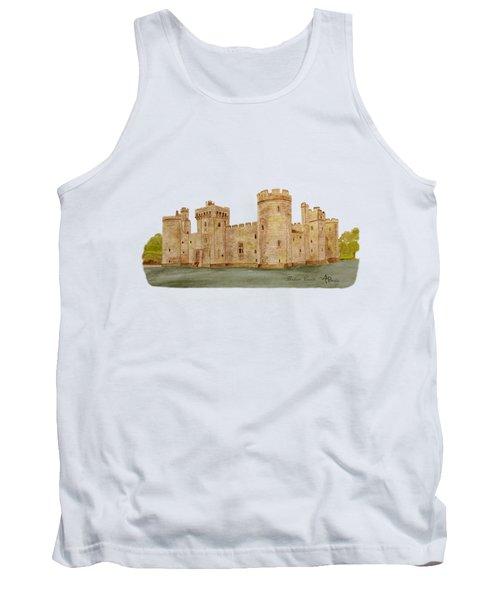 Bodiam Castle Tank Top by Angeles M Pomata