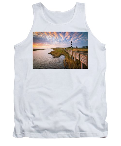 Bodie Island Lighthouse Outer Banks North Carolina Obx Nc Tank Top