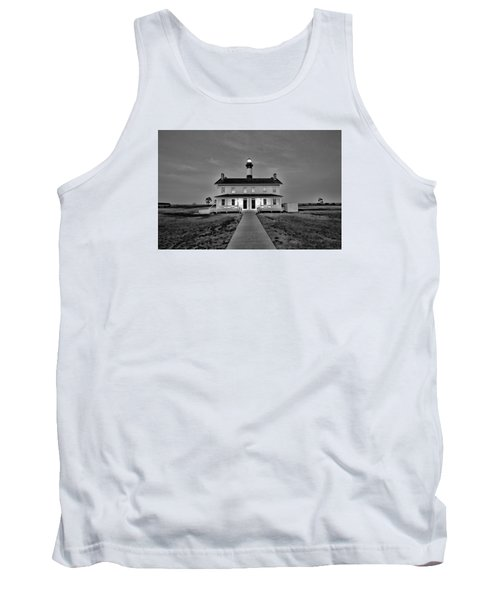 Bodie Lighthouse Night Tank Top by Marion Johnson