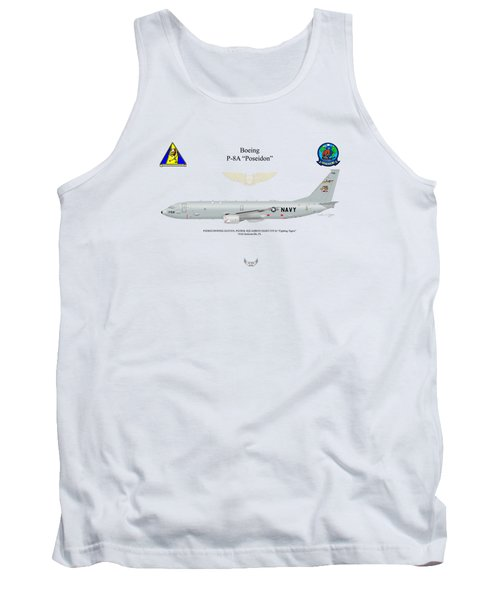 Boeing P-8a Vp-8 Tank Top