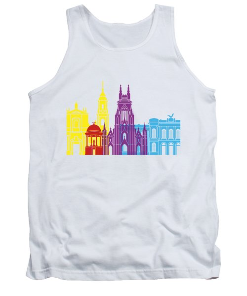 Bogota Skyline Pop Tank Top