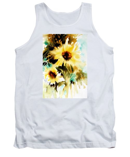 Tank Top featuring the painting Bold And Beautiful by Rae Andrews