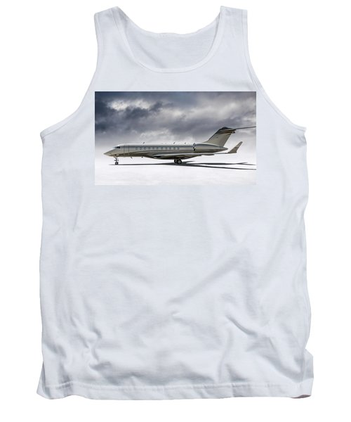Bombardier Global 5000 Tank Top by Douglas Pittman