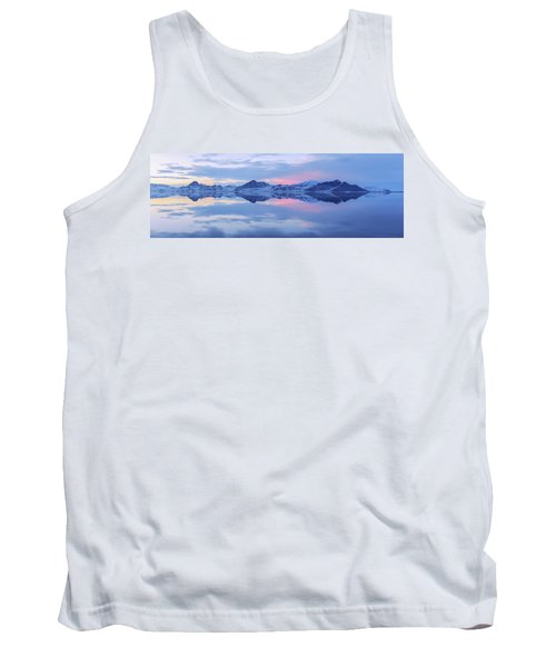 Tank Top featuring the photograph Bonneville Lake by Chad Dutson