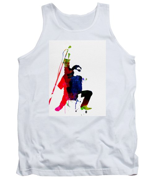 Bono Watercolor Tank Top by Naxart Studio