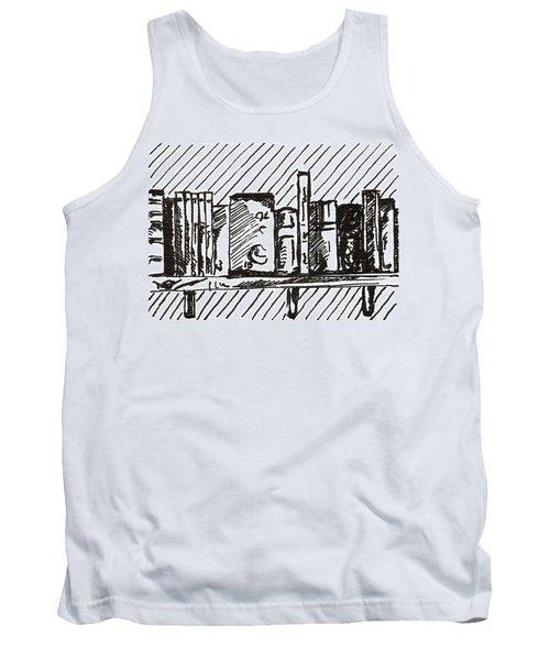Bookshelf 1 2015 - Aceo Tank Top