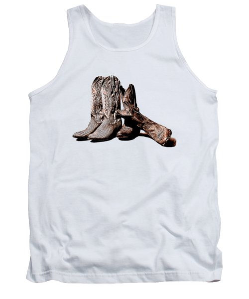 Boot Friends White Background Tank Top